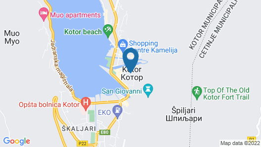 Guesthouse Athos Map