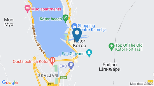 Hotel Hippocampus Map
