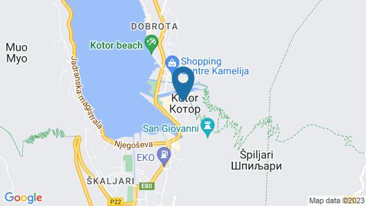 Hotel Monte Cristo Map