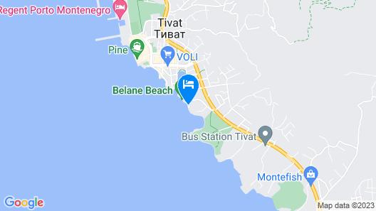 Kaliman Villa Lux Map