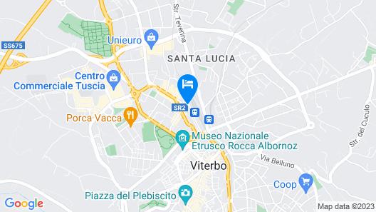 Balletti Palace Hotel Map