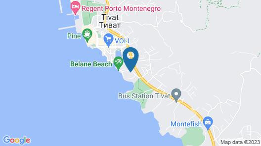 Villa Royal Apartments Map