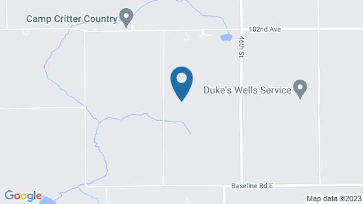 Family Resort on Lake Michigan - Patio 35 Map