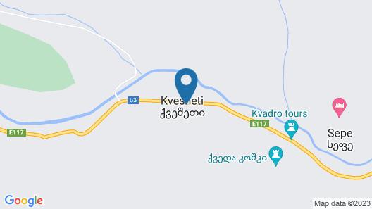 Gudauri Kvesheti Map
