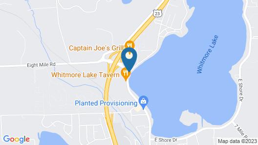 Days Inn by Wyndham Whitmore Lake Map