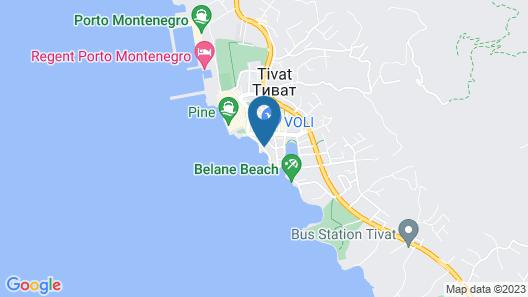 Boutique Hotel La Roche Map