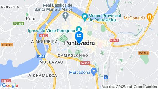 Hotel Madrid Map