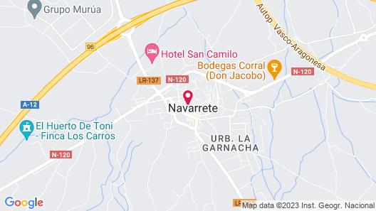 Casa Peregrinando Map