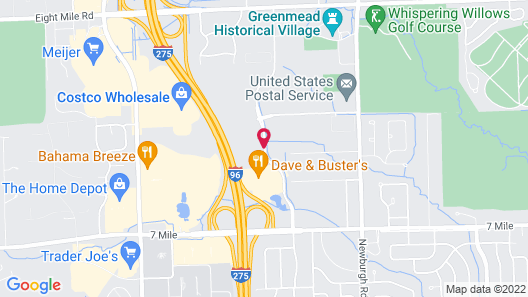 Embassy Suites by Hilton Detroit - Livonia/Novi Map