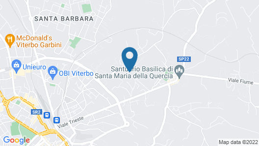 Villa Farinella Bed & Breakfast Map