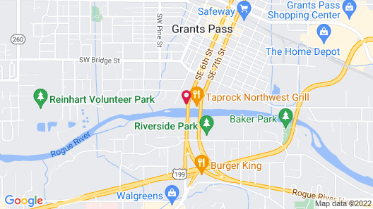 Riverside Inn Map