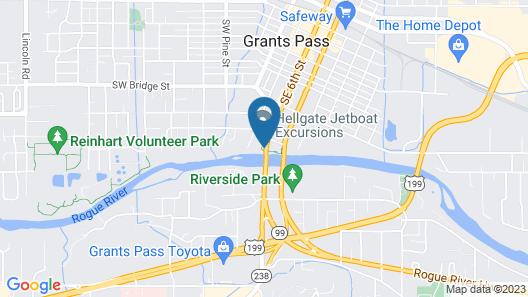 Riverside Inn Map