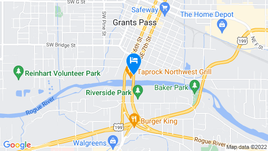 The Lodge at Riverside Map