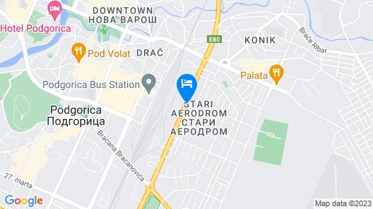 Hotel Aurel Map