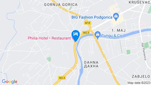 Hotel Philia Map