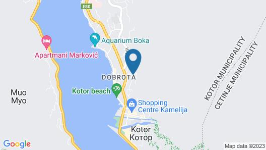 Apartments Lazarevic Map