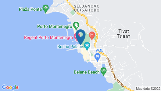 Regent Porto Montenegro Map