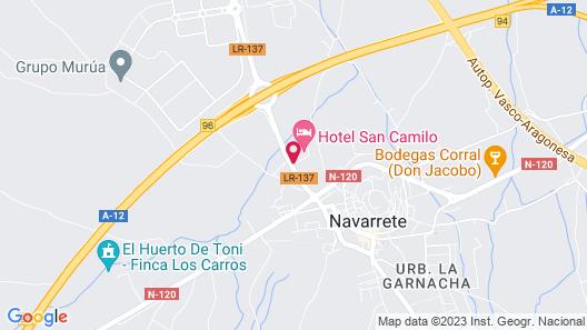 San Camilo Map