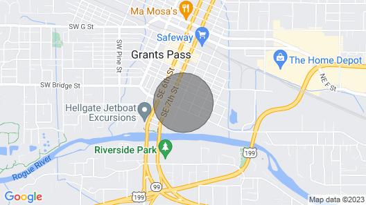 Riverside Cabin 6 Map