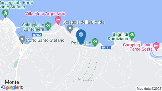 Baia d'Argento Map
