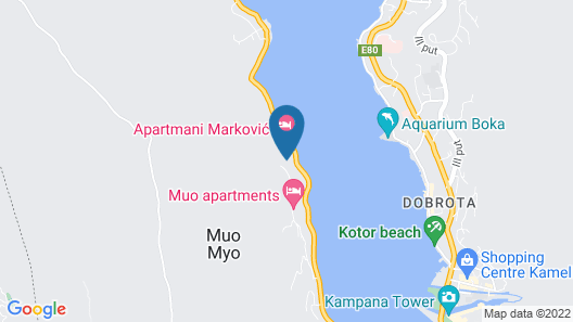 Apartmani Markovic Map