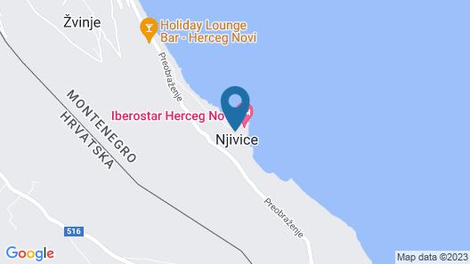 Iberostar Herceg Novi Map