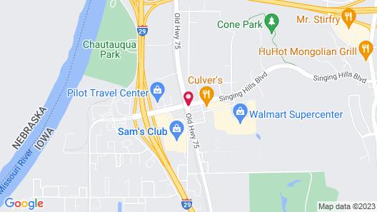 Days Inn by Wyndham Sioux City Map