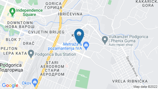 Hotel Ideal Map
