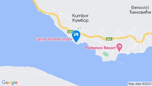 Iberostar Selection Kumbor Map