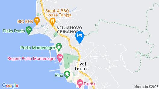 Lana Apartment Map