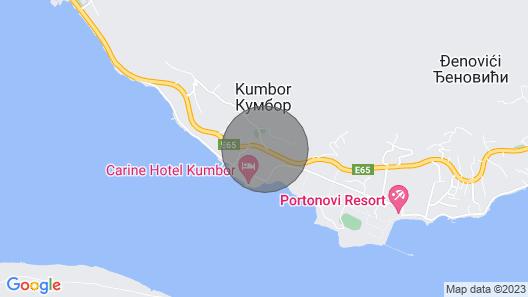 Garni Hotel Olimpija Plus se Nalazi u Bokokotorskom Zalivu,herceg Novi Crna Gora Map