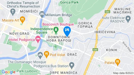 Boscovich Boutique Hotel Map