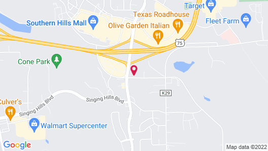 Holiday Inn Express & Suites Sioux City - Southern Hills, an IHG Hotel Map