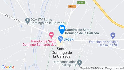Parador de Santo Domingo de la Calzada Map