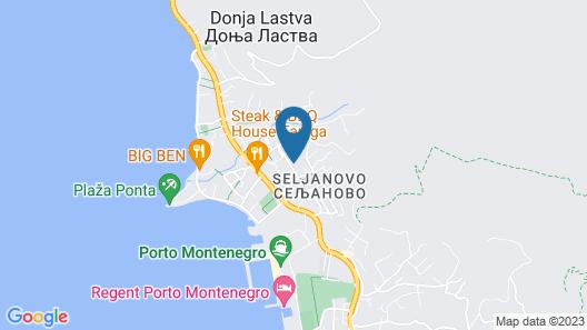 Apartments Samardzic Map
