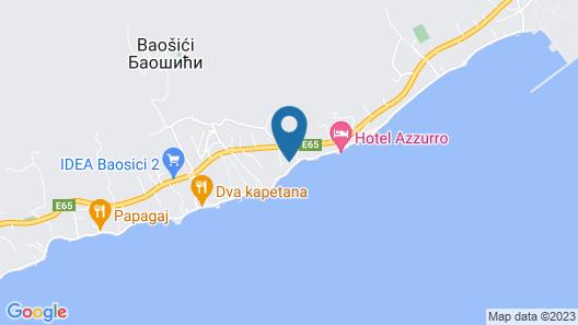 Apartments Bella Map