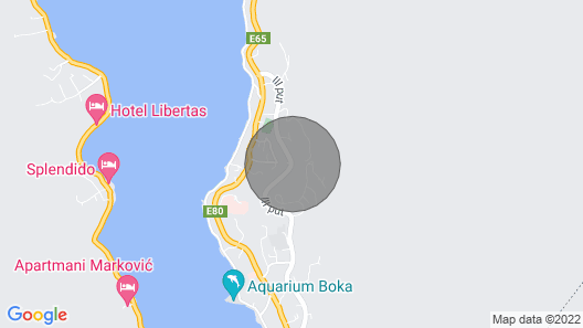 Stella di Cattaro...Luxury Apartment Map
