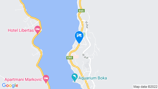 Hotel Alkima Map