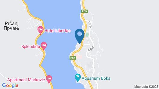 Apartments Dobrotski Dvori Map