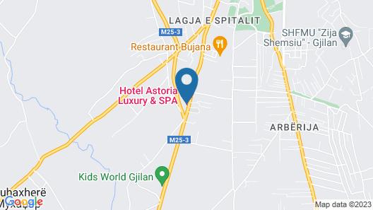 Hotel Astoria Luxury & Spa Map