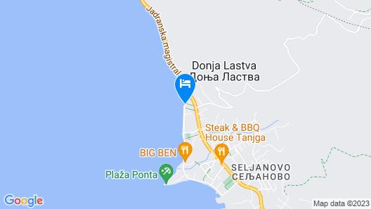 Eco Hotel Carrubba Map