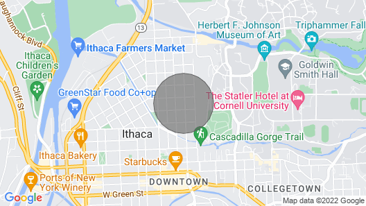 Cozy Stay Minutes Away From Downtown! Map