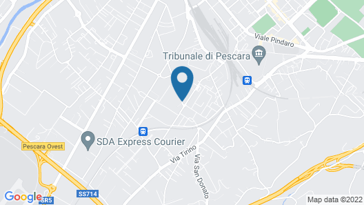Hotel Spazio Residenza Map