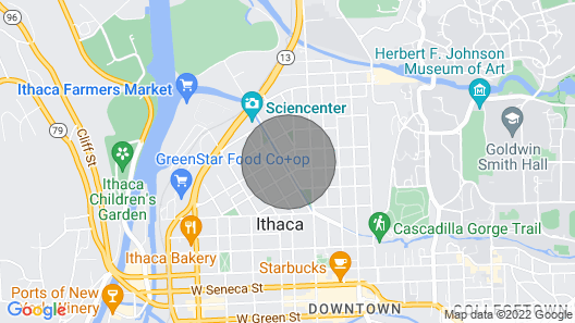 Walk Downtown, Live in a Garden Map