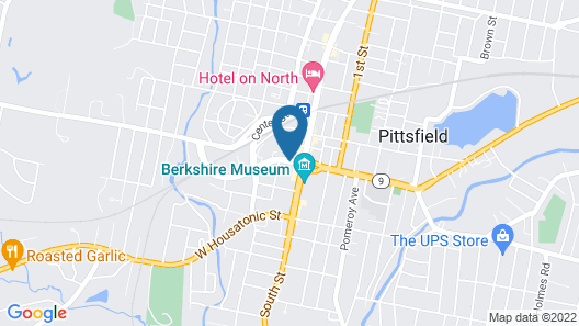 Holiday Inn & Suites Pittsfield-Berkshires Map