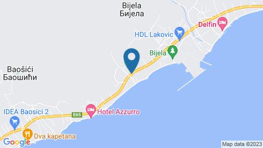 Vila La Vita del Mare Map