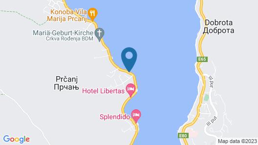 Palace Lukovic Map