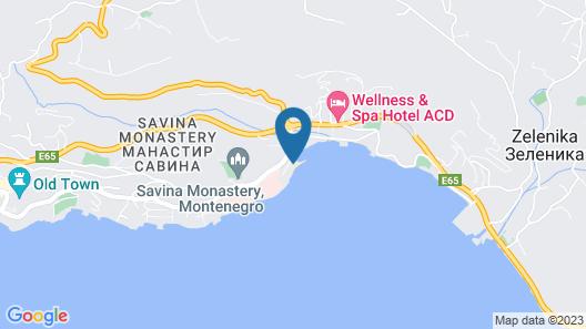 Lazure Hotel and Marina Map