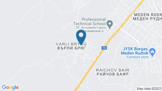 Motel Varly Briag Map