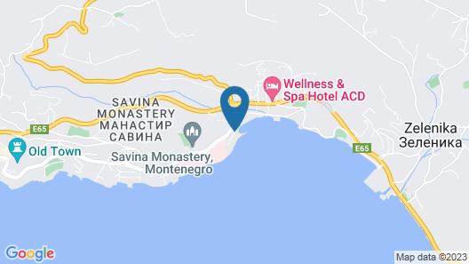 Boutique Hotel Kredo Map
